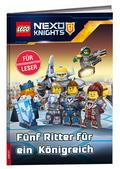 LEGO® NEXO KNIGHTS™ - Fünf Ritter für ein Königreich, Lesebuch für fortgeschrittene Leser