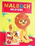 Malbuch Wildtiere (inkl 6 Spielfiguren)