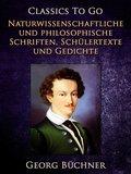 Naturwissenschaftlich und Philosophische Schriften, Schülertexte und Gedichte (eBook, ePUB)