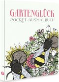 Gartenglück - Pocket-Ausmalbuch