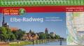 Elbe-Radweg - Fahrradführer mit Karten