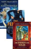 Terry Pratchett Scheibenwelt - Fantasy-Paket (3 Bücher)