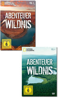 National Geographic DVD-Paket: Abenteuer Wildnis (2 DVDs)