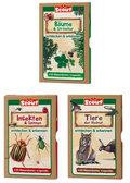 Natur entdecken & erkennen für Kinder - Scout Wissenskarten (4 Sets)