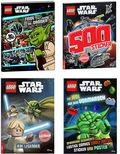 LEGO® STAR WARS™ Aktionspaket (4 Bücher inkl. Minifigur)