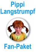 Pippi Langstrumpf Fanpaket (10 Artikel)