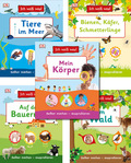 Ich weiß was! Kinderbuch-Paket - Körper, Tiere, Natur (5 Bücher)