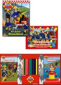 Feuerwehrmann Sam - Kreativ-Paket (3 Bücher)