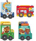 Kinderbuch-Paket - Mein erstes Räderbuch (4 Bücher mit Rädern)