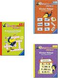 Leserabe Paket: 1. , 2. und 3. Lesestufe (5 Hefte)