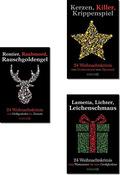3x 24 Weihnachtskrimis - Krimi-Paket (3 Bücher)