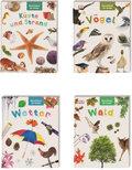 Naturführer für Kinder - Buchpaket (4 Bücher)