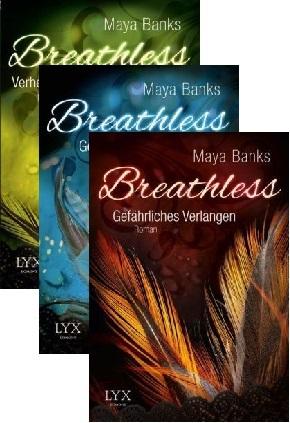 Breathless - Die komplette Trilogie (3 Bücher)