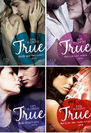True - Die komplette Serie Buchpaket (4 Bücher)