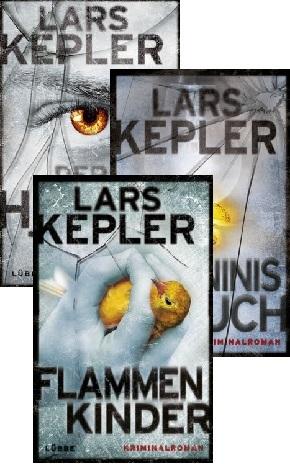 Lars Kepler Krimipaket - Joona Linna: Band 1-3 (3 Bücher)
