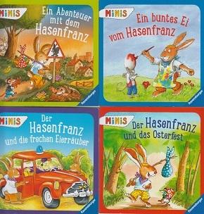 Hasenfranz - Ostern - Ravensburger Minis (4 Hefte)