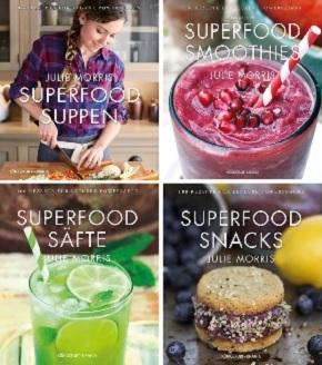 Superfood Kochbuch-Paket (4 Bücher)