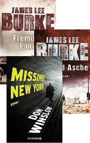 Thriller Buchpaket (3 Bücher)