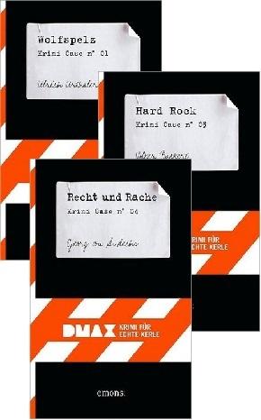 DMAX - Krimi für echte Kerle Buchpaket 1
