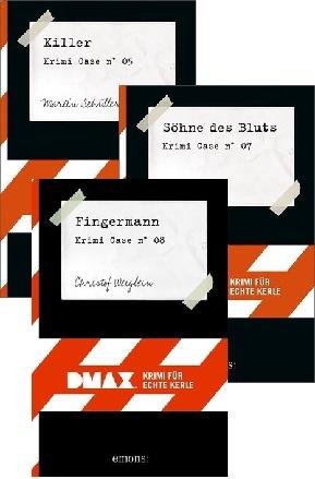 DMAX - Krimi für echte Kerle Buchpaket 2