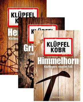 Kommissar Kluftinger Krimipaket - Herzblut, Grimmbart & Himmelhorn (3 Bücher)