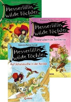 Messerlillis wilde Töchter (3 Bücher)