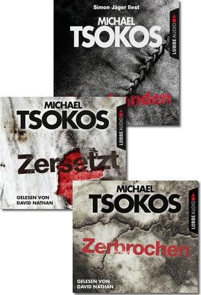 Michael Tsokos: Hörbuch True Crime-Paket (3 Hörbücher, 12 CDs)
