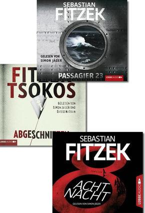 Sebastian Fitzek Hörbucher - Bestseller-Paket II (3 Hörbücher, 16 Audio-CDs)