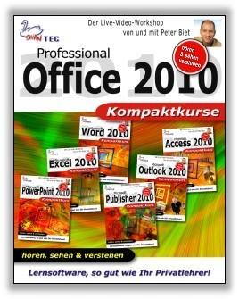 Office 2010 Professional - 6 Video-Trainings im Paket (DOWNLOAD)