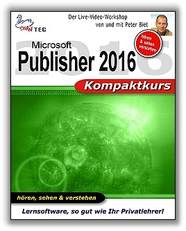Publisher 2016 - Kompaktkurs (DOWNLOAD)