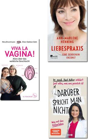 Gesundheit, Körper, Sexualität - Ratgeber-Paket (3 Bücher)
