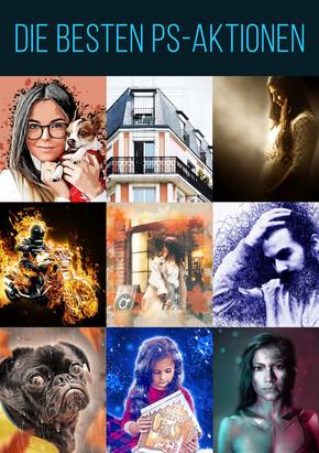 Die besten Photoshop-Aktionen - Sparpaket, 9 Aktionen (DOWNLOAD)