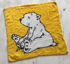 Kleiner Eisbär Lars - Zauberhandtuch