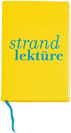 Buchumschlag - Strandlektüre, Schutzumschlag für Bücher, Größe L