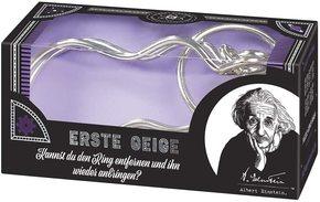 Albert Einsteins erste Geige - Geduldspiel aus Metall