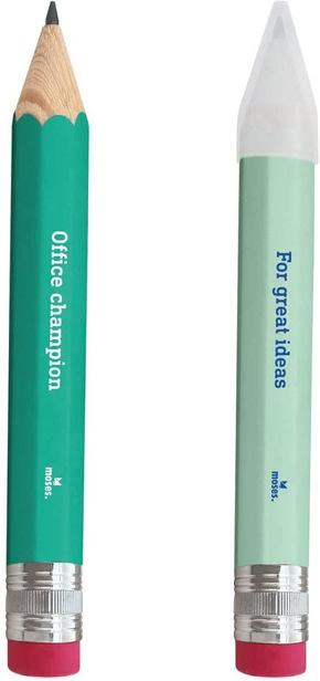 XXL-Bleistift mit Radiergummi (12 Stück)