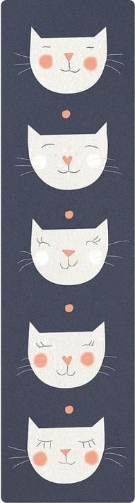 Lesezeichen - Katzen