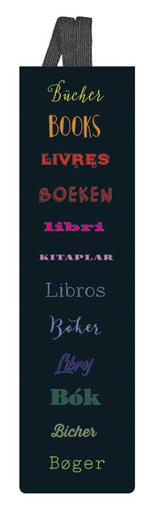 libri_x Lesezeichen Bücher (mit Band)