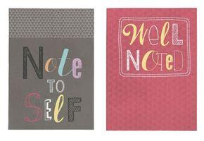2 Notizhefte - Happy me Note