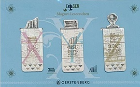 Magnet Lesezeichen - Motive ErLesen (3er Set)