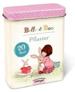 Belle & Boo Pflaster (20 Stück in Metalldose)