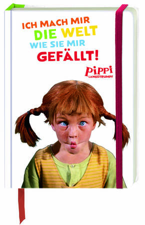 Pippi Langstrumpf - Notizbuch