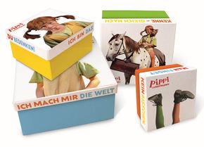 Pippi Langstrumpf - Geschenkboxen (4er Set)