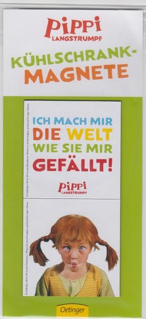 Pippi Langstrumpf - Kühlschrank-Magnete
