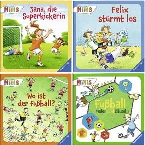 Ravensburger Minis Buchpaket  - Fußball (4 Hefte)