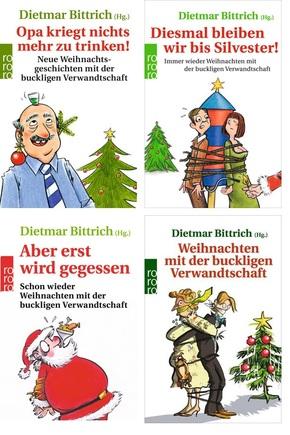 Weihnachten mit der buckligen Verwandschaft - Buchpaket (4 Bücher)