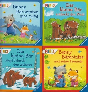 Ravensburger Minis Buchpaket  - Bärengeschichten (4 Hefte)