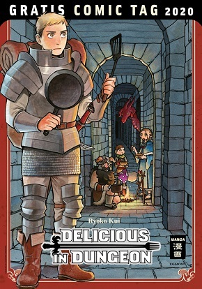 Delicious in Dungeon - Gratis Comic Tag 2020