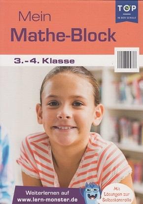 Mein Mathe-Block - 3.-4- Klasse - Lernblock