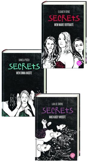 Secrets - Die komplette Trilogie (3 Bücher)